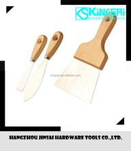 High quality mirror polishing putty knife/scraper (3 pcs/set)