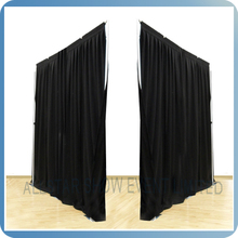 Hanging fabric room divider - Pipe & Drape