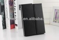 Black Leather Case + wireless Bluetooth Keyboard for iPad 2 3 4