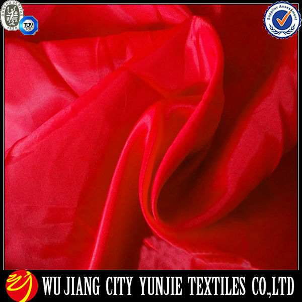 % 100 polyester tafta kumaş kaplamasında/polyester tafta astar kumaş/astar tafta kumaş