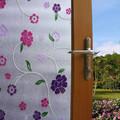 0.18mm anti- uv privacidade janela filme/estática película/decorativas da janela de filme de pvc