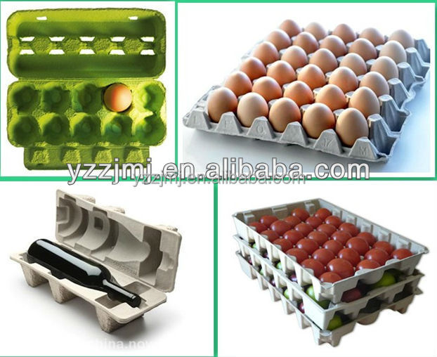 Maquina bandeja huevos paper pulp egg tray making machine for How to make paper egg trays
