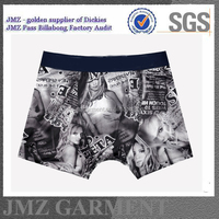 latest boxer shorts for men with sexy girl printing