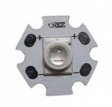 Cree Type Dual Chips 1W Far Red 730nm High Power LED (No lens, the chip surface covered with silicone to protect the LED)