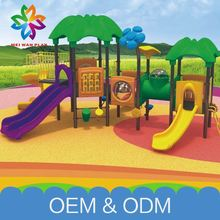 Customized Amusement Game Commercial Outdoor Playground Swing And Slide For Kids For Children