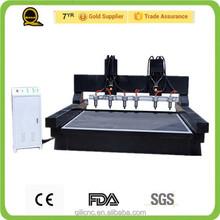 high quality stone cutting router machine mini desktop cnc lathe