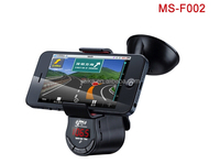 New Car Styling Universal Multifunctional 360 Degrees Rotatable Car Mp3 Player car mobile phone holder with fm transmitter