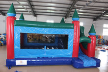 EN 14960 with high quality inflatable kids indoor trampoline bed