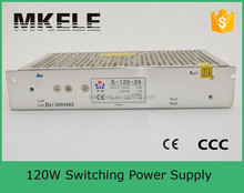 S-120-12 High reliability 120w single output series 12v 10a switching power supplies from china manufacturer for stage light