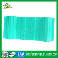 anti-corrosion hot sale 3 layers carbon fiber upvc roof tiles