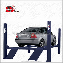 Torin Bigred high strength reliable hydraulic drive four car lift