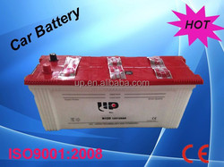 wholesale price Dry charged automotive battery N120 12V120AH