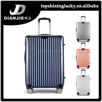 New design trolley bags colorful high quality abs luggage