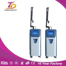 Lastest Professional Skin Treatment Acne Scars Co2 Fractional Laser/80W China RF Tube Co2 Laser