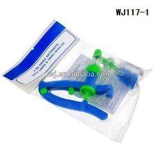 1ml, 2ml, 5ml,10ml animals plastic light weight and easy operation automatic syringe