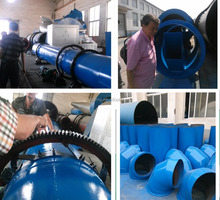 Economical and Durable industrial rotary dryer