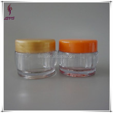 25ml plastic jars with colored lids empty