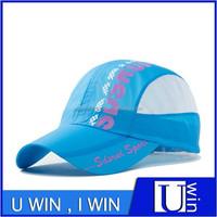 Blue Breathable Ventilate Dri Fit Hat Quick Dry Cap Waterproof Hat , Hat Wholesale China , Hats For Men