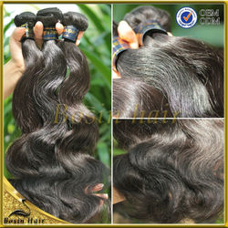 20% Off ! Unprocessed Hair Weave Brazilian Malaysian Peruvian Indian Virgin Human Hair Extensions 3PC Body Wave Double Weft