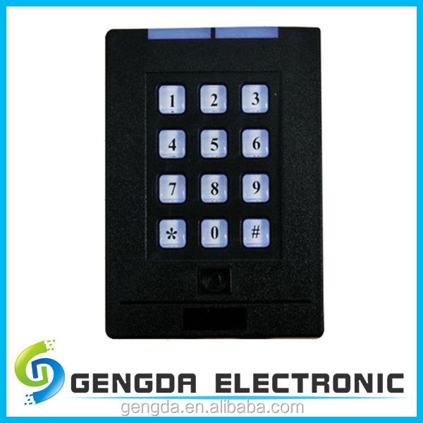 rubber touch screen buttons digital keypad plastic access control system for apartment buy. Black Bedroom Furniture Sets. Home Design Ideas