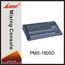 Lane PMX-1605D professional powered 16 channel mixer manufacturer