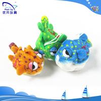 big eyes plush fish/growing water toys/expand water bath toys