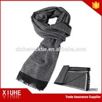 Xiuhe China Men's Casual Viscose Herringbone Shawl