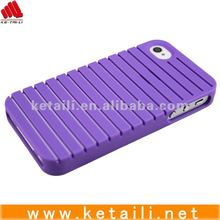 new silicone phone jacket for iphone with epoxy logo in embossed