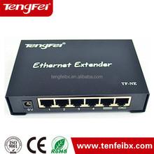 RJ45 Ethernet Extender 120M Over Single CAT5E CAT6 Support IR Extender Function