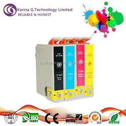 Hos selling 2015 high quality ink cartridge refilling kit T1811-T1814 for Hp
