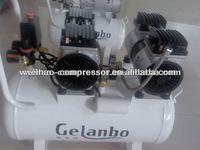 hot sale dental mute oil free quiet air compressors