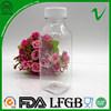 350ml pet plastic juice bottle with food grade wholesale