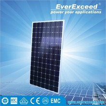 EverExceed High Efficiency Monocrystalline Solar Panel with TUV/VDE/CE/IEC Certificates