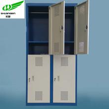 Hot selling vertical 4 door locker school locker ikea storage cabinets metal locker for sale/durable key cabinets