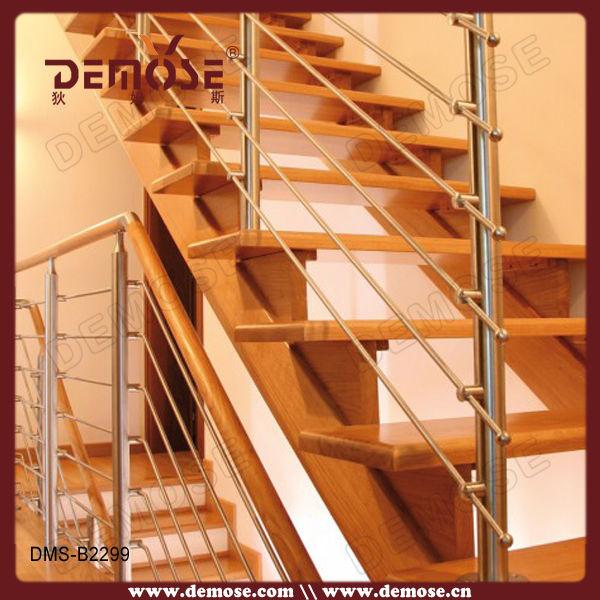 PVC 바닥 단단한 나무/ 나무 철 계단 난간 광주