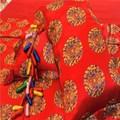 textiles para el hogar de color rojo nupcial conjunto ropa de cama
