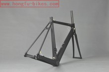 HongFu super light inner cable frame used carbon road bikes