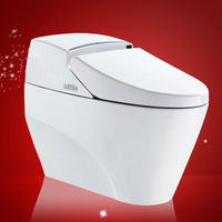 Siphon Top End Ceramic Closestool Product One Piece Toilet