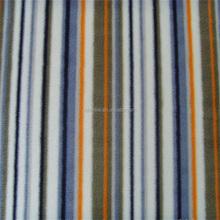100% Polyester stripe Printed Fabric Polar Fleece