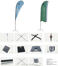 Best sale aluminium and fiberglass beach flag pole