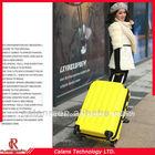 Venda quente circulante bagagem, abs casca dura do trole da bagagem/pull rod viagens tronco