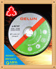 """T27 9"""" 230mm hot sales rubber grinding disc"""