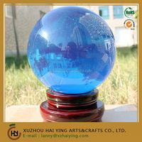 Beautiful Blue Opal acrylic ball