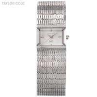 Women Stainless Steel Chain Bracelet Ladies Japan Quartz Select Watch TC033