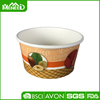 Food-grade custom printing disposable paper 6oz ice cream cup