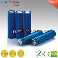Lithium li-ion rechargeable li ion battery 3.7v lithium aa battery