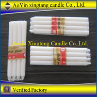 candle making factory white candles