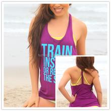 High Quality Women Tank Top Customized Printed LOGOTank Top Women Workout Tshirt Gym Singlets OEM Serive