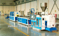 High efficient pvc profile extruding machine pvc windows and doors machine
