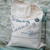 cotton drawstring laundry bags with factory direct sell